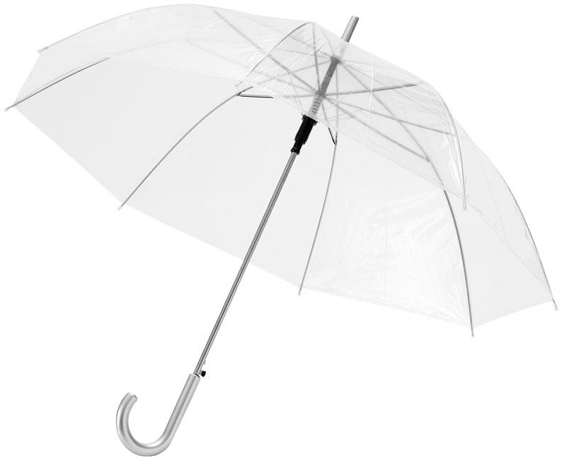 64203544aed Läbipaistev vihmavari kaarja käepidemega - YesReklaam