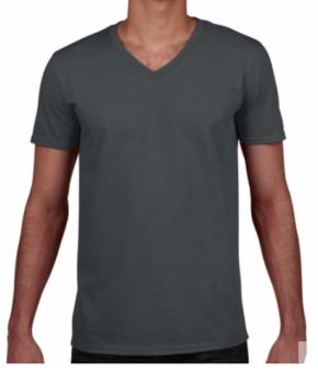 Särk Gildan Soft Style V-neck Mens