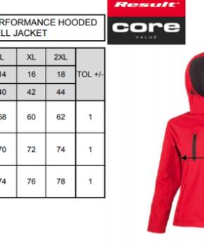 Softshell Result TZ Performance Hooded Jacket Ladies
