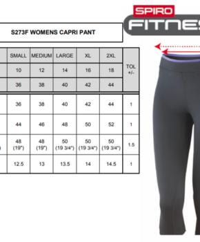 Püksid Spiro Fitness Capri Pant Women's